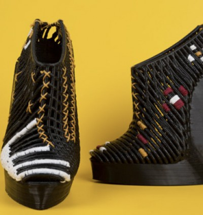 Stratasys collaborates with designer Ganit Goldstein to create unique shoes
