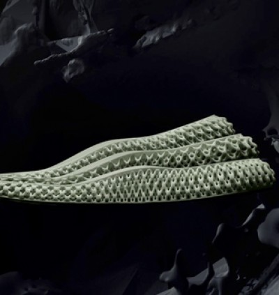 Light and oxygen to create a sneaker