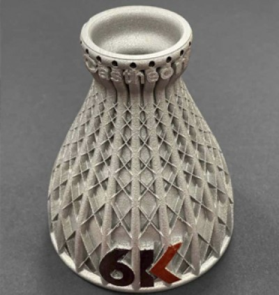 6K Launches World's First Premium Metal Powders For Additive Manufacturing Derived From Sustainable Sources